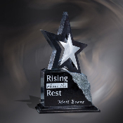 "Estrella Star Award, Sizes: 8 3/4""H, 10 3/4""H, 12""H"