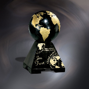 "Marble Global Award, Sizes: 7 1/2""H"