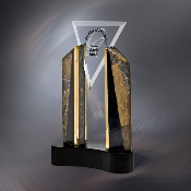 "Virtue Award, Sizes: 11 1/2""H, 14 3/8""H"