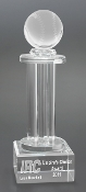"Crystal Baseball Tower Trophy is available in 12"" Height"