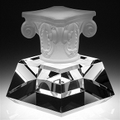 "The Crystal Highest Honor Award is available in 6 1/2""Height"