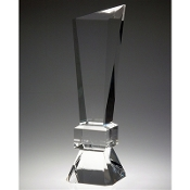 "The Crystal Side Vision Award is available in 13 5/8""Height"