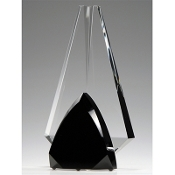 "The Crystal Solid Partners Award is available in 9 3/4""Height"