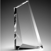 "The Crystal Momentus Award is available in 8 3/4""Height"