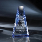 "The Ara Crystal Award is available in 8 1/4""Height"