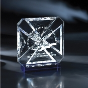 "The Vendome Crystal Award is available in 7""Height"