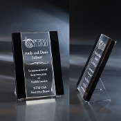 "The Vasari Crystal Award is available in 10""Height"