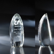 "The Celestial Crystal Award Crystal is available in 10 1/4""Height"