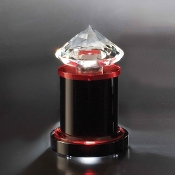 "The Crystal Radiant Award is available in 7""Height"