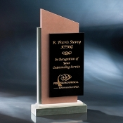 "Tip Top Recognition Award, Size: 11 1/2""H"