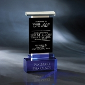 "The Tillamook Crystal Stone Awardis available in 9 3/4""Height"