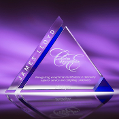 "Crystal Imagery Award - Size 7 1/2""H"