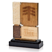 "Eco-Friendly Preservation Award, Available In 2 Sizes: 10""H 11 1/2""H"