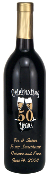 Personalized Etched Wine or Champagne Bottles - Anniversary - 50 Years from Bigheadawards.net