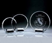 Crystal Circle Plaque - Bigheadawards.net