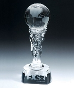 "Crystal Athena Award is available 12""Height - Bigheadawards.net"