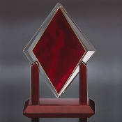 "Elegant Diamond Award, Sizes: 11""H, 12""H, 13""H"