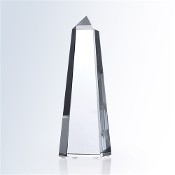 Commemorate excellence in your organization with the unparalleled prestige of the Crystal Master Obelisk Award, in optical crystal
