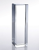 Commemorate excellence in your organization with the unparalleled prestige of the Crystal Rectangular Column Award, in optical crystal