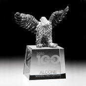"Bigheadawards.net is proud to offer the Crystal Rising Eagle Award with Free Engraving and No Setup Fees. Order Online Today or call 1-800-826-4987"". ""eagle, eagles, fly, flying, patriotic, motivational, new"""