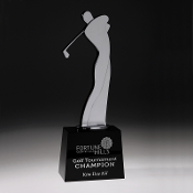 "The Master Golf Trophy, Sizes: 11 1/2""H"