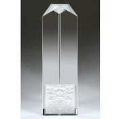"Crystal Window Of Opportunity Award is available in 9 3/4""Height"