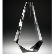 "The Crystal Partners Award is available in 10""Height"
