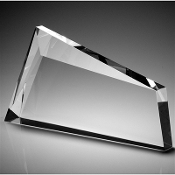 "The Crystal Momentus Award is available in 5 1/4""Height"