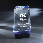 "The Freya Crystal Award is available in 8""Height"