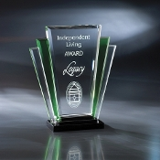 "The San Remo Crystal Award is available in 9 1/4""Height"