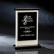 "The Cameo Crystal Stone Awardis available in 10 1/2""Height"
