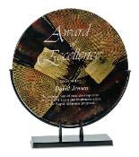 """Art Glass Awards, Glass Awards, Glass trophies, engraved glass trophies, engraved glass awards, corporate awards"""