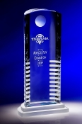 The Crystal Mythic Award is a popular Corporate Crystal Award